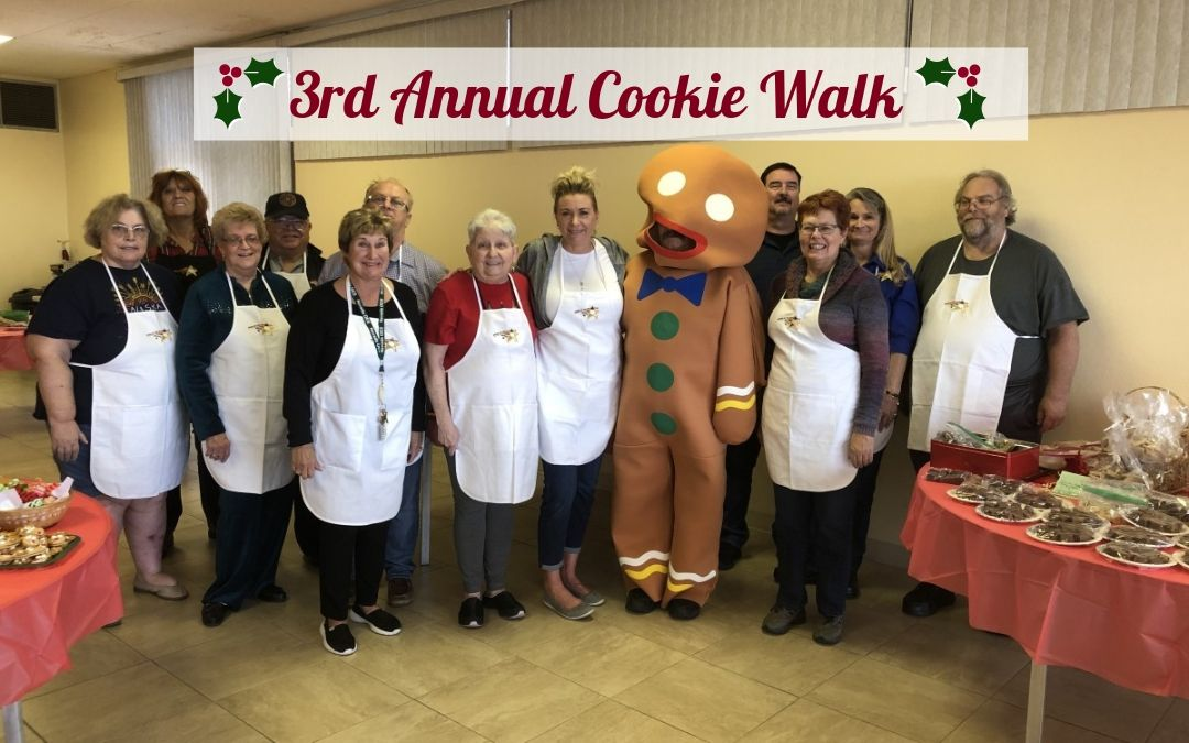 Sunrise Chapter OES Annual Cookie Walk