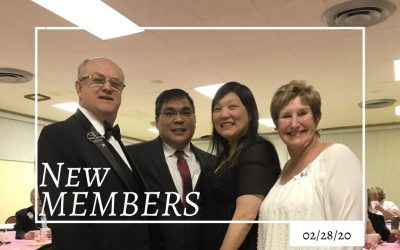 Sunrise OES #28 Initiation  Welcome a New Sister and Brother